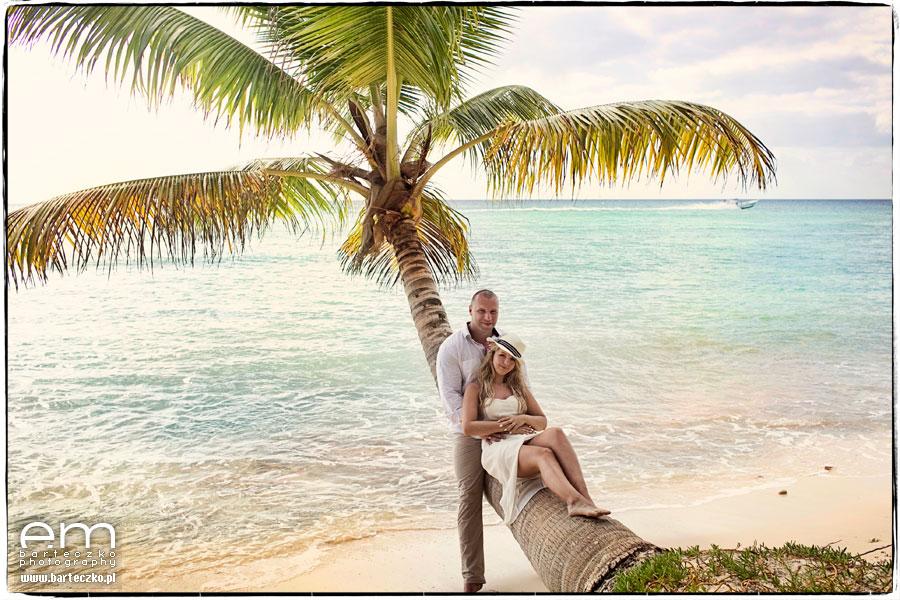 plener ślubny na Dominikanie