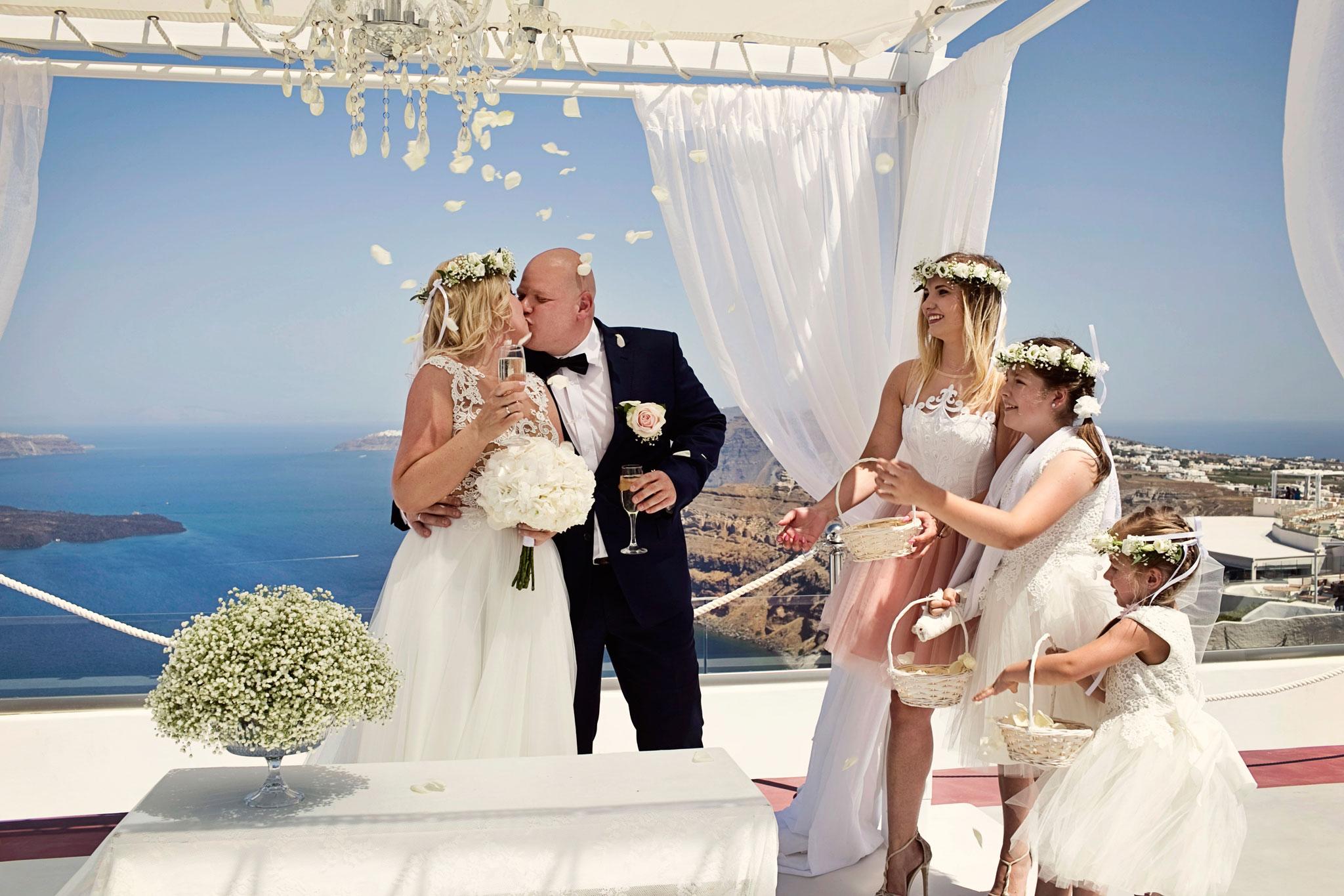 ceremonia ślubna nadmorzem