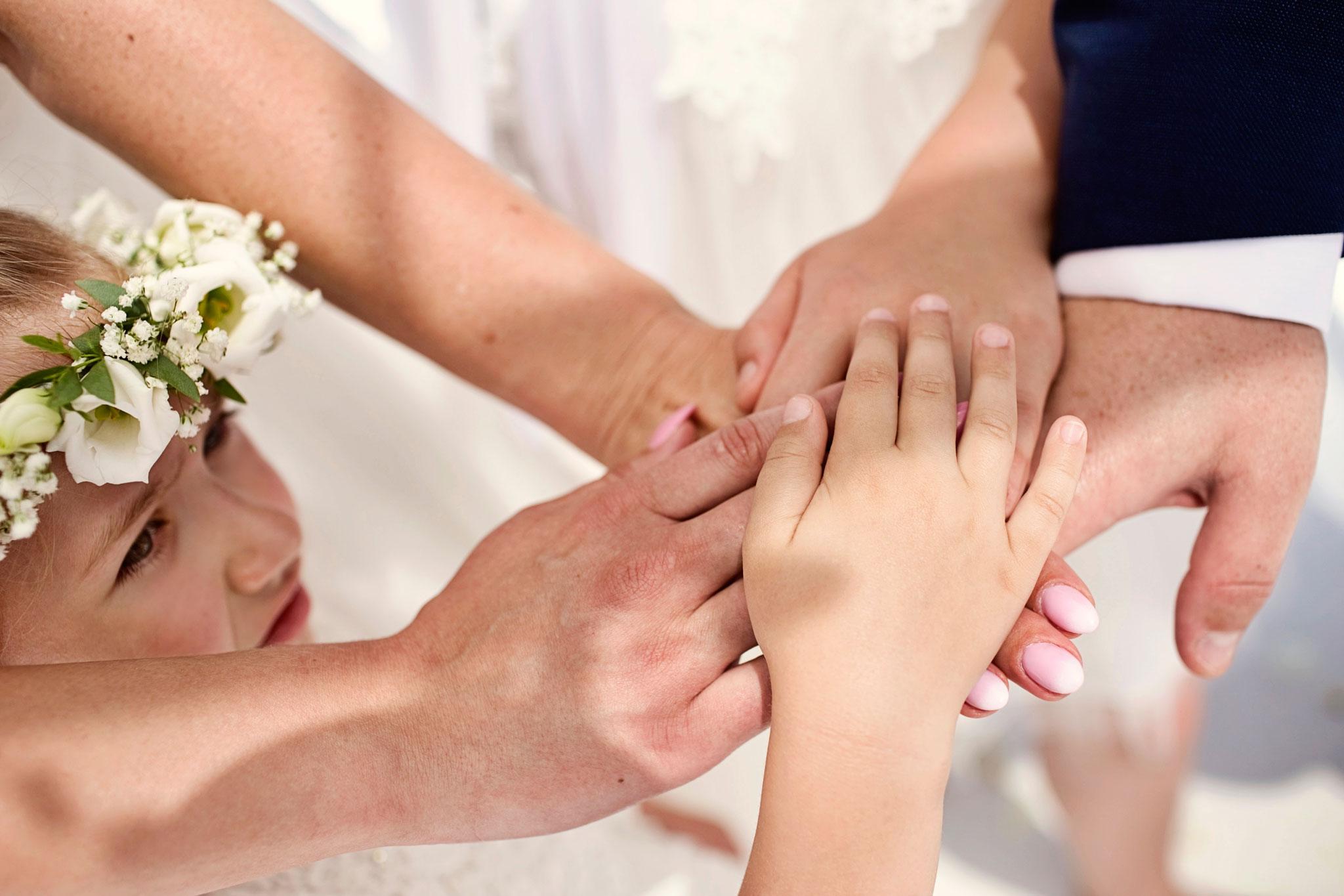 dzieci naślubie