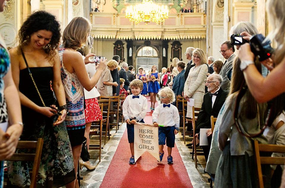 Dziecko na ślubie, czyli zadania dla malucha