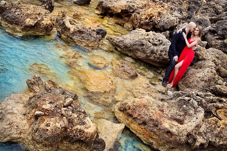 Pomysł na plener ślubny – zdjęcia w wodzie, poradnik ślubny