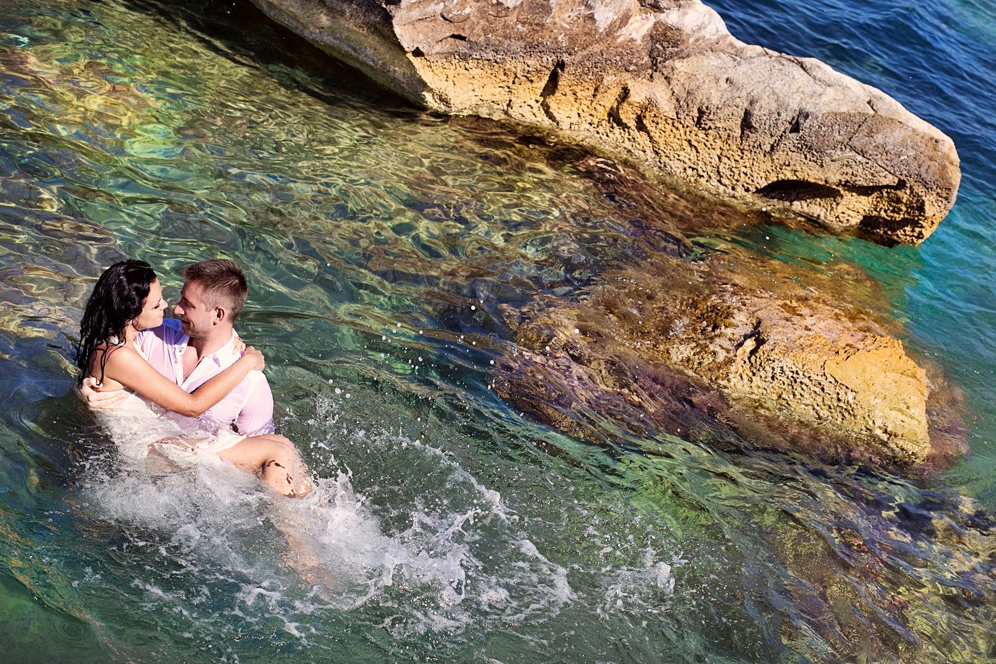 zdjecia slubne Santorini