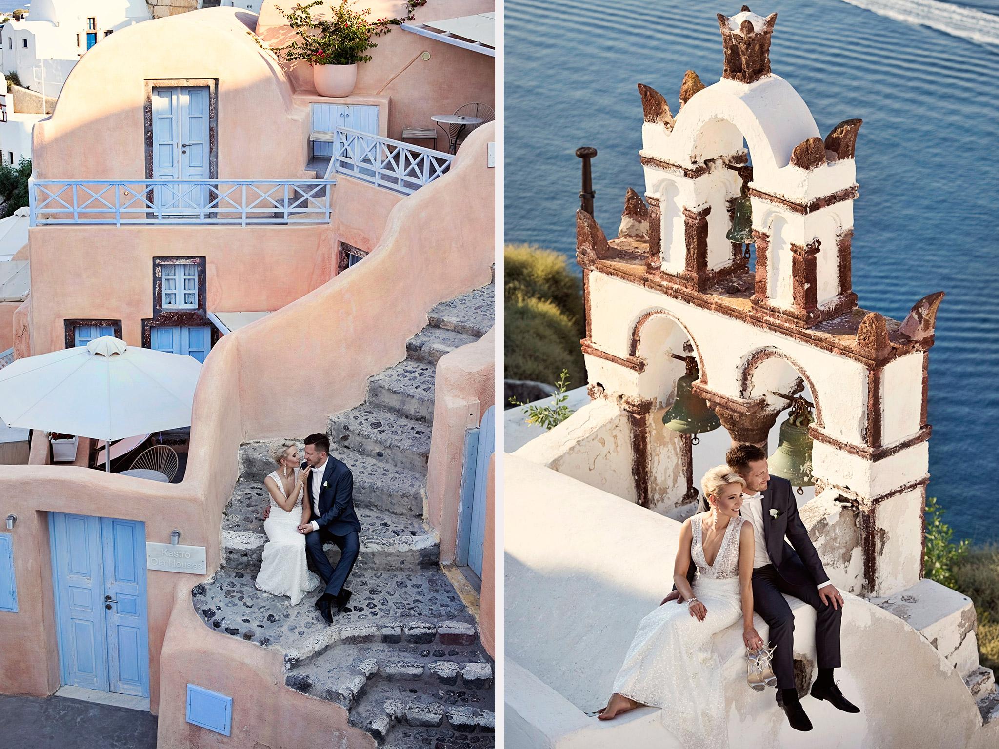 fotograf ślubny Santorini