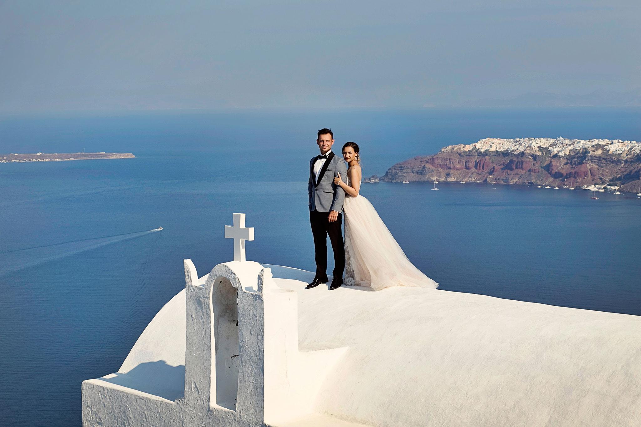 plener slubny Grecja