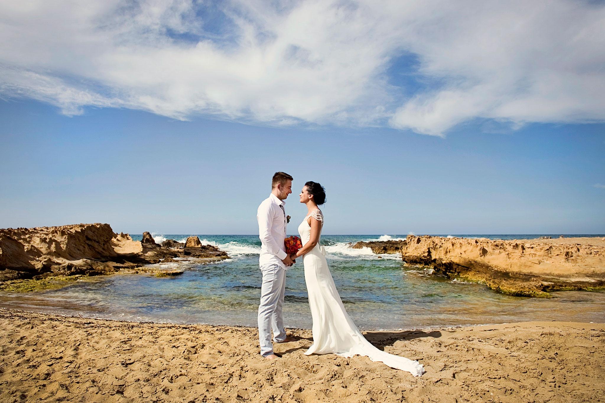 plener ślubny w Grecji