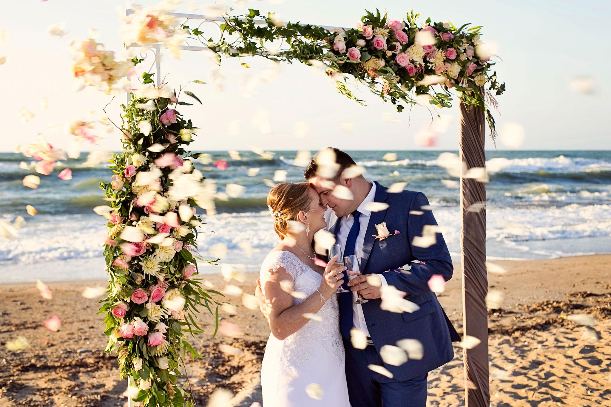ślub naplaży