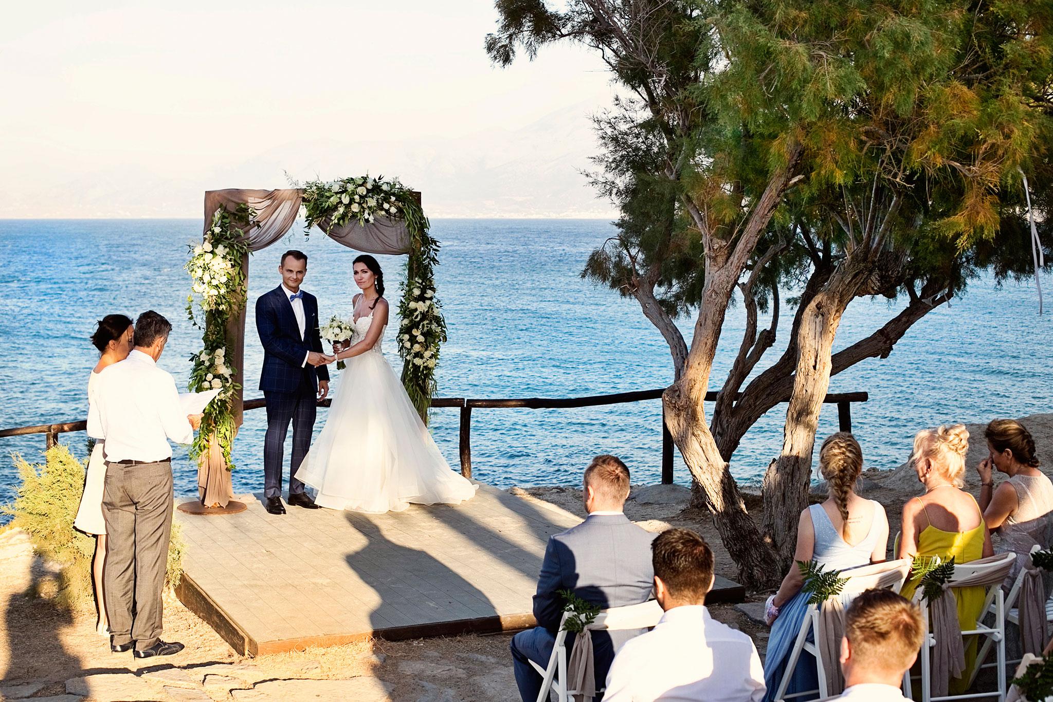 ceremonia slubna Kreta